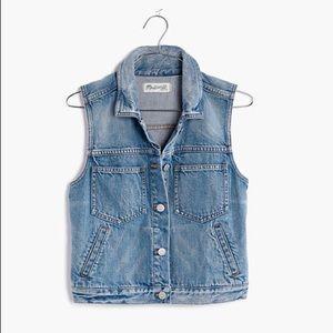 Madewell Light-wash Denim Jean Vest